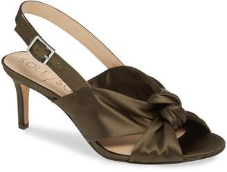 Sole Society Genneene Knotted Slingback Sandal