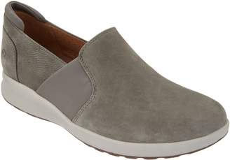 Clarks Leather Slip-on Shoes - Un.Adorn Step