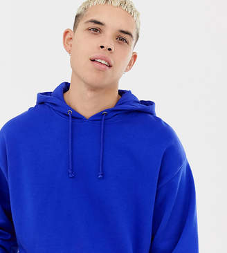Collusion COLLUSION regular fit hoodie in cobalt