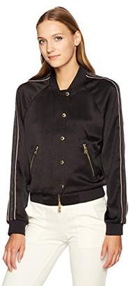 Juicy Couture Black Label Women's Duchess Satin Jacket