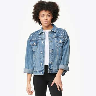 Blank NYC Heavy Metal Denim Jacket - Women's