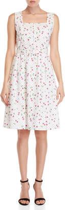 Yumi Cherry Conversational Dress