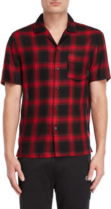 Religion Red & Black Ridge Shirt