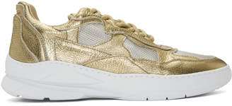 Filling Pieces Gold Low Fade Cosmo Mix Sneakers