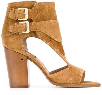 Laurence Dacade block heel sandals $740 thestylecure.com