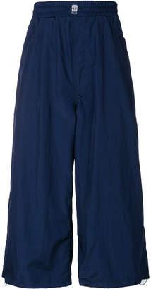 Sunnei wide leg cropped trousers