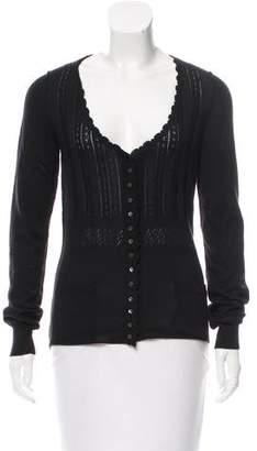Dolce & Gabbana Cashmere Knit Cardigan