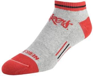NCAA Women's Mojo Nebraska Cornhuskers Low-Cut Socks