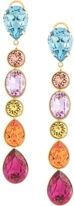 Shourouk cascade drop earrings