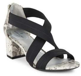Bandolino Sholto Cross-Strap Sandals $69 thestylecure.com