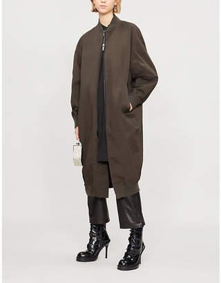 A.F.Vandevorst Monday longline stretch-cotton coat