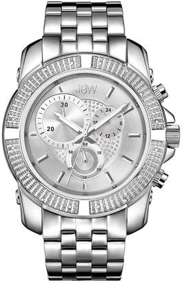 JBW Men's Warren Diamond & Crystal Watch