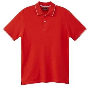 Mango Man MANGO MAN Contrast-edge piquA polo shirt