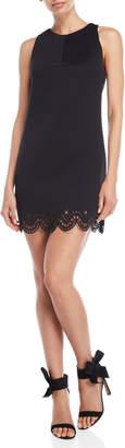 KENDALL + KYLIE Laser Cut Scuba Dress