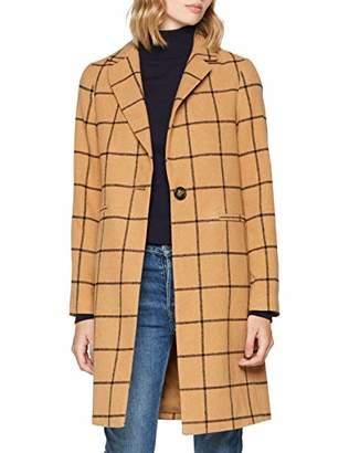 New Look Women's 5891572 Coat, (Mid Grey), 8 (Size:8)
