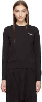 Comme des Garcons Black Logo Sweatshirt