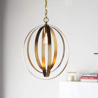 Mercury Row Arango 1-Light LED Globe Pendant