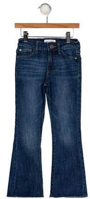 DL1961 Girls' Five Pockets Flared Jeans
