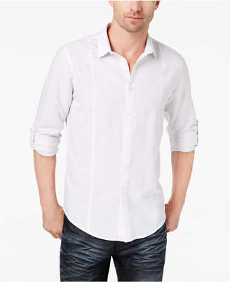 INC International Concepts I.n.c. Men's Linen Shirt, Created for Macy's