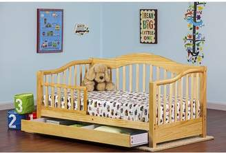 Dream On Me Convertible Toddler Bed with Storage