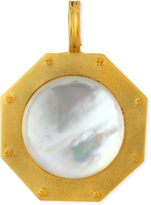 Dina Mackney Mother-of-Pearl Nailhead Pendant