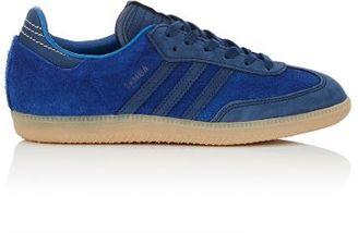 adidas Women's Women's Samba Sneakers-BLUE $120 thestylecure.com