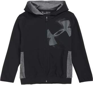Under Armour Woven Hooded Warm-Up Jacket