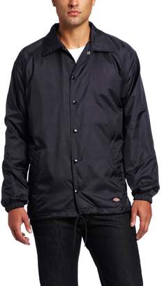 Dickies Mens Snap Front Nylon Jacket