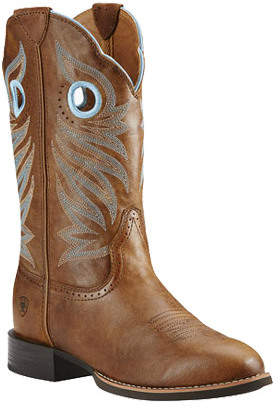 Women's Ariat Round Up Stockman Cowgirl Boot