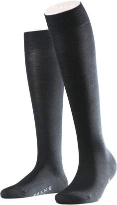Falke Women's Soft Merino Wool-Cotton Knee High Socks