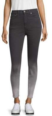 Alice + Olivia AO.LA by Good High-Rise Ankle Skinny Jeans