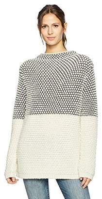 Pendleton Women's Textured Funnel Neck Pullover Sweater