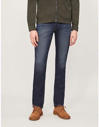 Selfridges Paige Denim Normandie slim-fit straight jeans