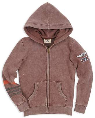 Butter Shoes Boys' Mineral-Wash Hoodie - Big Kid