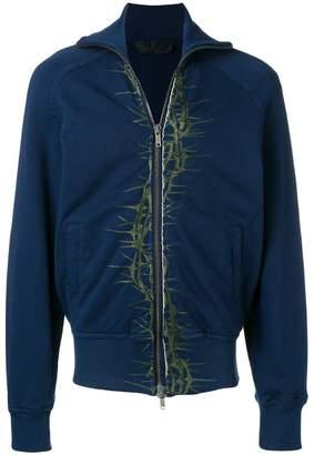 Haider Ackermann spike embroidered jacket