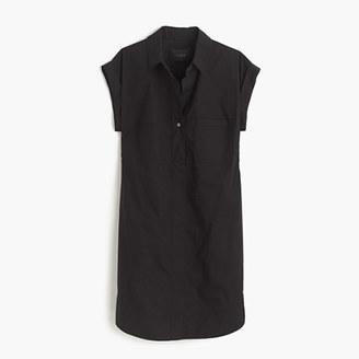 Short-sleeve cotton shirtdress $98 thestylecure.com