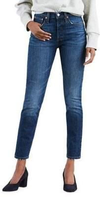 Levi's 501 Skinny Jeans Neat Freak