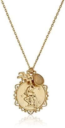 Tai Zodiac Aquarius Pendant Necklace