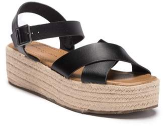 Rock & Candy Deklana Espadrille Platform Wedge Sandal