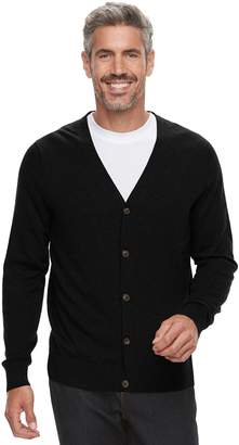 Croft & Barrow Men's Fine-Gauge Cardigan Sweater