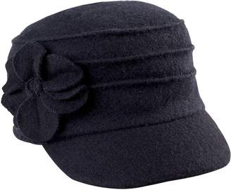 Co San Diego Hat Wool Cadet with Flower