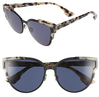 Dior 'Wildly Dior' 60mm Butterfly Sunglasses $490 thestylecure.com
