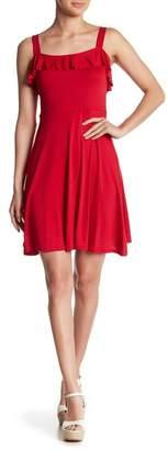 Soprano Ruffle Knit Skater Dress