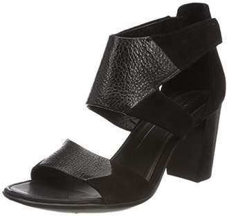 3648ab6a3ff6 Ecco Women s Women s Shape 65 Block Ankle Strap Heeled Sandal Black
