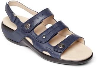Aravon Three Strap Slingback Sandal