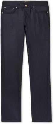 Brioni Slim-Fit Mélange Wool Trousers