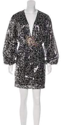 Jovani Sequin Embellished Dress