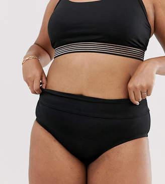 10ad8b4878d Nike Curve bikini bottom in black