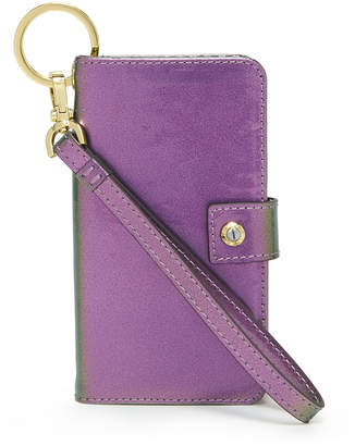 Henri Bendel Dalton Petrol Wristlet For Iphone 7/8