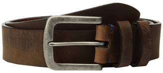 Torino Leather Co. 38mm Distressed Waxed Harness w/ Antique Nickel Men's Belts